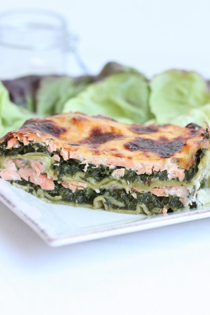 Lasagnes au Saumon & Epinards