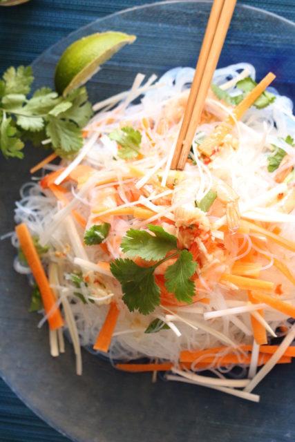 Salade de Vermicelles aux Crevettes
