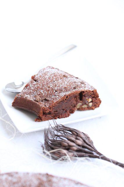 Couronne Fondante Chocolat, Marron & Noix