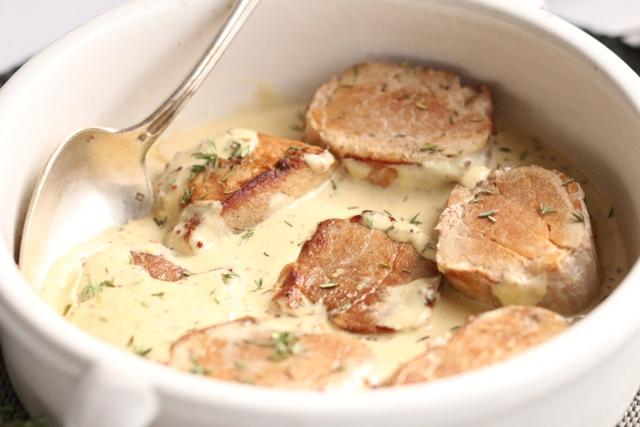 Filet Mignon de Porc à la Moutarde & au Thym3